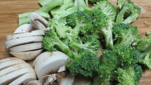 Sautéed Broccoli Step1