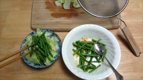 asparagus with miso dressing step5