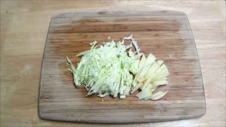 apple coleslaw step2