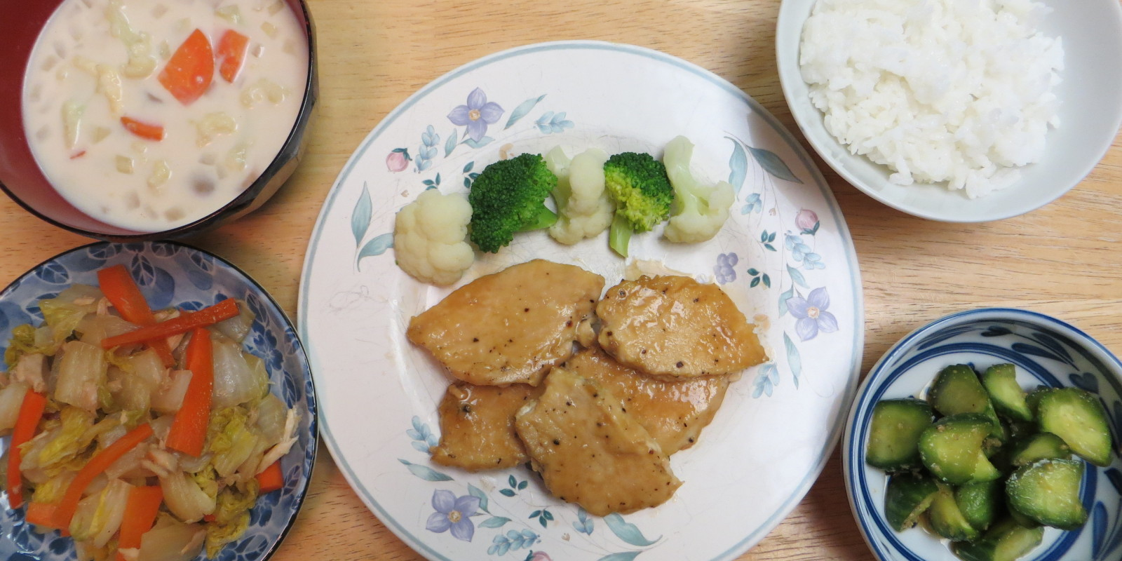 mayo soy sauce chicken image