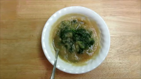 grated daikon and spinach step (5)