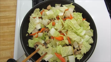intestinal flora stewed napa cabbage step (4)