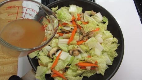 intestinal flora stewed napa cabbage step (5)