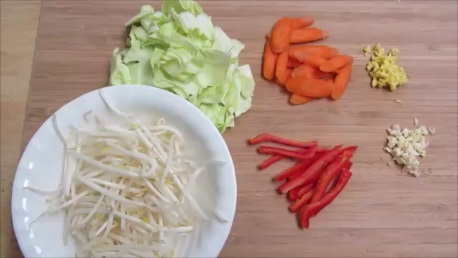 Yasai Itame Stir Fry Vegetables step (1)